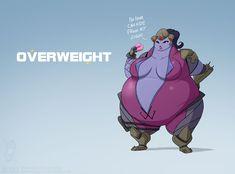 Overweight by jollyjack.deviantart.com on @DeviantArt