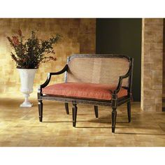 Baker Furniture : Sheraton Settee - 17-422-1 : Milling Road : Browse Products