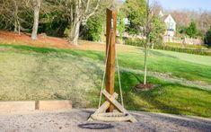 Playground Equipment - Swing No.6 Basket Playground Swings, Hardwood, Basket, Outdoor Structures, Garden, Natural Wood, Garten, Lawn And Garden, Gardens