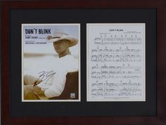 Silent Auction Item Kenny Chesney autographed sheet music #fundraising #auction https://www.cfr1.org/fundraising-items/