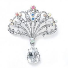 Art Deco #Pin with AB Color Fan <3 www.imagebridal.com <3