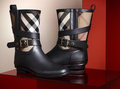 Burberry: New season biker boots