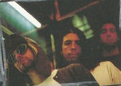 Nirvana photographed by Stephen Sweet in Times Square, New York, United States. July 24, 1993.