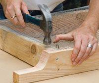 Building a soil sifter DIY