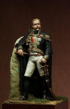 Eugène de Beauharnais (1781 - 1824) Vice-Roi d'Italie Russia 1812