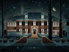 DKNG Home Alone poster print from Mondo