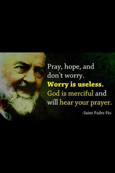 Pray Hope Don't Worry