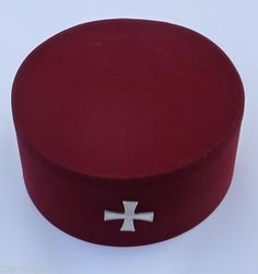 English-Masonic-Knights-Templar-Cap