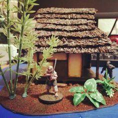 Minis, Samurai, Scenery, War, Japanese, Games, Landscape, Japanese Language, Gaming