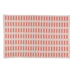 Domino Rug (Pink)    The Land of Nod