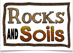 Rocks and soils on pinterest rock cycle rocks and for Soil facts ks2