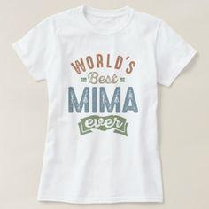 #Best Mima T-Shirt - #giftidea #giftideas #gifts for #grandpa & #grandma #grandparents