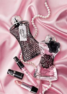 *Pink Satin & Lovely Beauty items