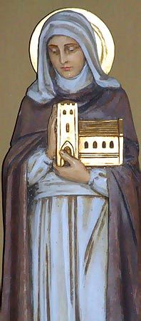 Saint Wenna of Talgarth. Welsh princess-turned-nun, eventually went south to Cornwall as a missionary. After establishing several churches (one of which had a holy well consecrated to her) she was martyred by enraged pagan Saxons while visiting home in Wales.