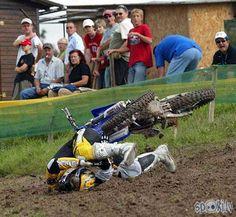 Motocross crash!