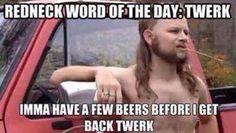 Redneck shaved back