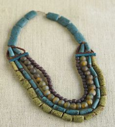 African Beaded Necklace -#InspiredGreenLiving