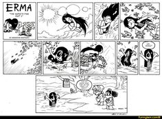 Explore the Erma Comic collection - the favourite images chosen by Oswald-Lara on DeviantArt. Owlturd Comics, Comics Und Cartoons, Comics Story, Manga Comics, Erma Comic, Beste Comics, Short Comics, Funny Cute, Comic Strips