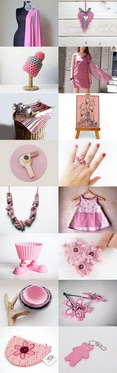 Pink & Pink ♫•*¨`*•♫ by Nancy Ottati