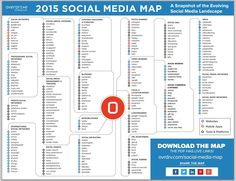 #socialmedia map 2015 #interactive