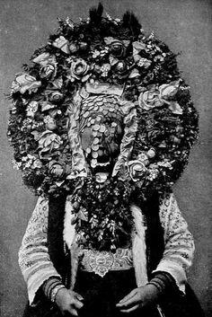 Bulgarian wedding headress