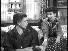Mary Wickes and Thelma Ritter