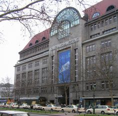KaDeWe Berlin- biggest department store in Europe, and has a bigger food center than Harrod's. Must go.