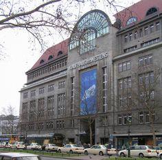 KaDeWe Berlin- biggest department store in Europe, and has a bigger food center than Harrod's. Must go.