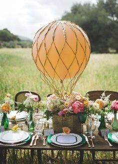 Wedding reception centerpiece idea; Featured Photographer: Analisa Joy Photography