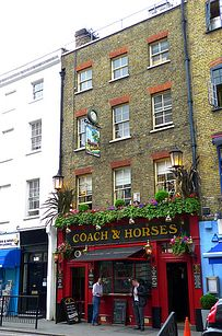 The Coach and Horses� tofush and chips. | 22 Dishes Every Vegetarian In London Has Got To Try