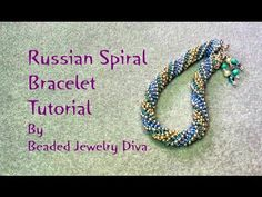 Beading Tutorial Russian Spiral Tutorial - Russian Spiral Bracelet - YouTube