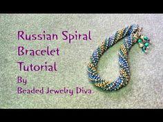 Beading Tutorial Russian Spiral Tutorial - Russian Spiral Bracelet - YouTube