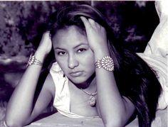 Native Woman. Navajo Nation