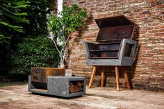 - built-in-gas- barbecue-outdoor-kitchen-pictures-ideas-