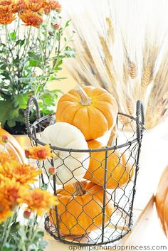Fall Party {Tablescape, Recipes, & Games) #HarvestFun