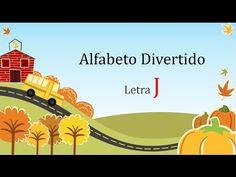 Alfabeto Divertido: Letra J #alfabetização #letramento