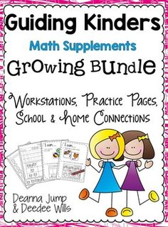 Math Workshop supplemental materialsThis is a GROWING BUNDLEWhen it is finished it will include 10 units.These are supplemental materials to accompany our Guiding Kinders Math Units but they will also work well as a stand-alone resource.Each unit will include:*A parent letter*30 Practice pages for morning work or homework*19 journal prompts* 4 Math Station ActivitiesThis Bundle currently only includes UNIT 1*****************************************************************************These are th...