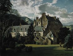 James McIntosh Patrick, OBE RSA February 1907 – 7 April was a Scottish (British) painter. Scottish Castles, Art Uk, Scotland Travel, Historic Homes, Great Britain, Places To See, Beautiful Places, Scenery, England