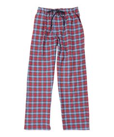 Look what I found on #zulily! Red Tartan Lounge Pants by Ben Sherman #zulilyfinds