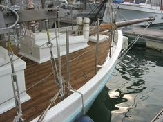 1997 Colin Archer Gaff Rigged Ketch - Chengal Wood Construction Sail Boat