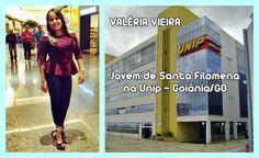 Jovem de Santa Filomena, aprovada em concurso para Psicologia na UNIP-Goiânia