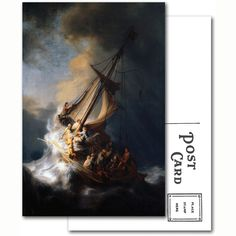 The Storm on the Sea of Galilee Postcard