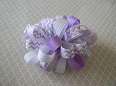Purple Chervon by camlisa on Etsy, $2.75
