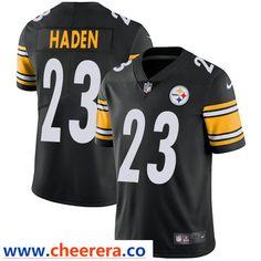 e10779139e9 Nike Pittsburgh Steelers #23 Joe Haden Black Team Color Men's Stitched NFL  Vapor Untouchable Limited