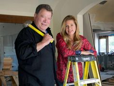 "William Shatner Returns to TV! ""The Shatner Project"" on DIY. He's remodeling his house and he has no idea how to do it! Star Trek Convention, Tv Icon, Watch Diy, I Still Love Him, William Shatner, I Need To Know, Remodeling, Projects, House"