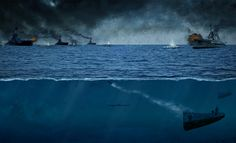 world war II submarine naval battle