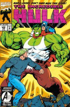 Incredible Hulk # 406 by Gary Frank  Mark Farmer