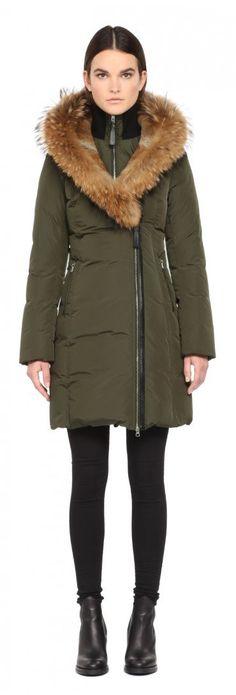 Mackage Trish F5 winter parka. Fur hood splits, so dreamy