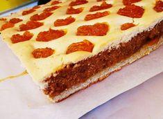 Hamis Berliner kocka, hosszú ideig kerestem a receptjét, de most végül megtaláltam és nagyon finom lett! Cheesecake, Pie, Drinks, Recipes, Food, Minden, Torte, Drinking, Cake