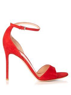 Portofino suede sandals | Gianvito Rossi | MATCHESFASHION.COM US